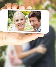 let your guests capture your most romantic moments...