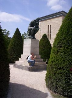Musee' Rodin - Paris, France - The Thinker