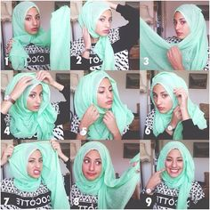 Hejjab today step by step – Hijab Fashion 2020 Hijab Style Tutorial, Scarf Tutorial, Turban Hijab, Stylish Hijab, Hijab Chic, Islamic Fashion, Muslim Fashion, Modest Fashion, Hijabs