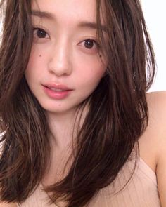 Japanese Beauty, Asian Beauty, Angelababy, Hair Images, Asia Girl, Woman Face, Pretty Face, Natural Makeup, Cute Girls