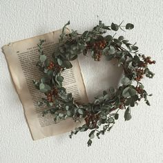 Dried Flower Wreaths, Dried Flowers, Wonderful Time, Christmas Wreaths, Floral Wreath, Romantic, Holiday Decor, Instagram Posts, Swag