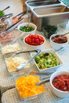 Omelet bar: http://www.stylemepretty.com/living/2015/04/30/20-ideas-for-the-ultimate-mothers-day-brunch/