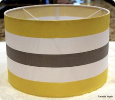 painted lampshade tutorial. where have you been all my life?