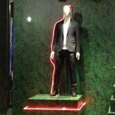 "LANVIN, Milan, Italy, ""Thinking About Thinking"", photo by Oltrte Frontiera Progetti, pinned by Ton van der Veer"