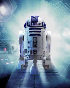 R2-D2 for STAR WARS: EPISODE VII!!!