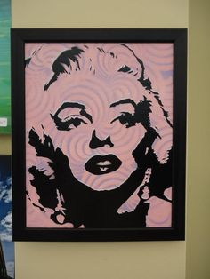 Marilyn Monroe artwork by Jerry Shirts available at One Salon Boutique www.myonesalon.com