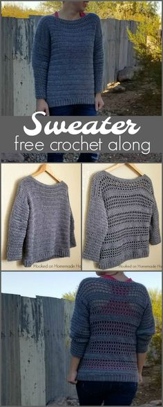 Who's ready to make a sweater?! Thank you so much for joining this crochet along! (you can find my first post about this crochet along HERE) It's my first time hosting one, so I'm really excited to get started. I'd love for you to join my facebook group (>>HERE<<) and share your progress. I'm also …