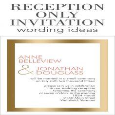 Wording Second Wedding Invitations Examples Samples Blog
