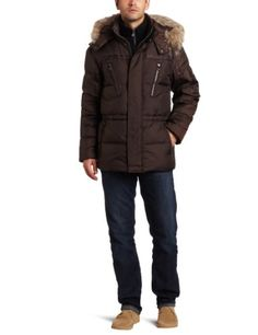 Marc New York By Andrew Marc Men's Hudson 31.5-Inch Down Parka for $250.00