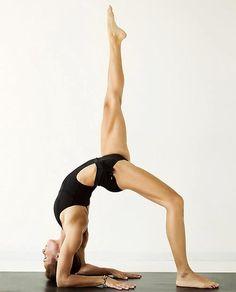 Wheel variation #yoga