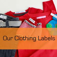 b6d7f207cd Personalised labels for kids  clothes. Labels for school. Name tags for  money back guarantee. Labels4Kids