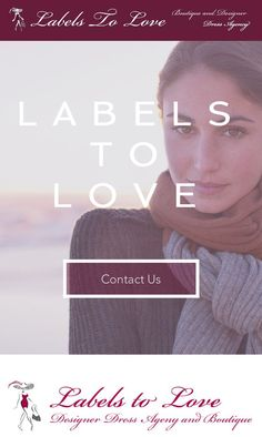 #website re #design for my customer. See how it looks on your #mobile #device or #computer  labelstolove.co.uk