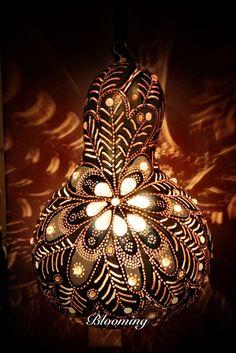 gourd art lamp - Google Arama