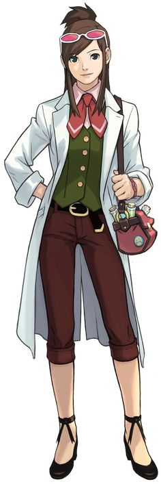 Trucy is Apollo partner, much like Maya was to Phoenix Wright, in the game Apollo Justice: Ace Attorney.