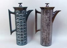 JUPITER and CYPHER Portmeirion Coffee Pots | photo by A30yoyo