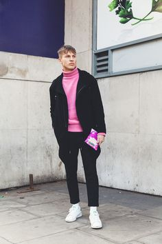 Andy Donohoe brings us a selection of the best looks photographed in the streets of London during London Collections Men, in exclusive for Fucking Young!