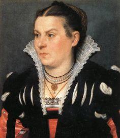 MORONI, Giovanni Battista Portrait of a Noblewoman