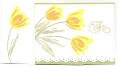 Terrific tulips stamp