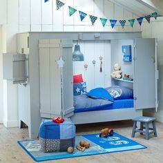 Fancy - Cupboard Cabin Bed by Woood