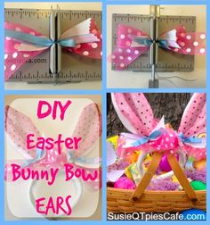 Easter Bunny Ears Craft - easy diy project