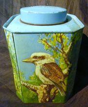 Australian Scenes BUSHELLS Tea Tin Circa 1950 - on Ruby Lane