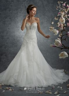 Sophia Tolli - Y21741 - Perseus - All Dressed Up, Bridal Gown