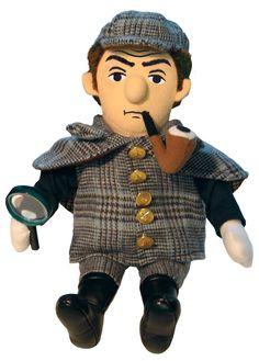 Little Thinker – Sherlock Holmes Plush Doll