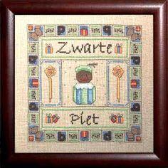 Zwarte Piet Cross Stitch.....ordered!