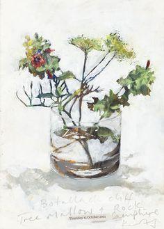 私は毎日拾ってくる宝物が。 — kurt jackson nature lines like they are Kurt Jackson, Painting Still Life, Still Life Art, Flower Images, Flower Art, St Just, Arte Floral, Botanical Art, Oeuvre D'art