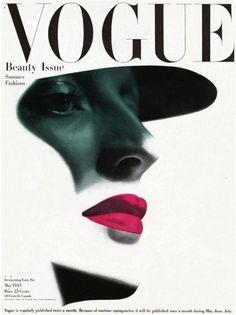 Couverture de Vogue. Mai 1945.