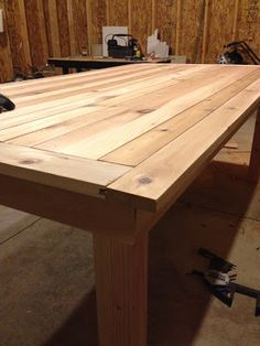 Dining Room Table DIY Erin Loechner