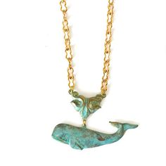 We Dream in Colour: Whale Necklace