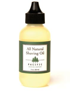 Pacific Shaving Company All Natural Shaving Oil