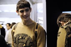 Louis Vuitton Fall Winter 2015.16 Backstage