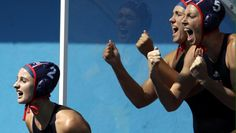 U.S. Olympic Team Retweeted Aria Fischer ‏@ariafischer_ Aug 17 That feeling that you get when you are going for gold!! #goUSA Maddie Musselman, USA Water Polo, U.S. Olympic Team and KK Clark