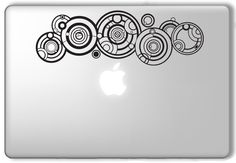 Amazon.com: The Doctor's Name in Gallifreyan Doctor Who Dr. Who - Apple Macbook Laptop Vinyl Sticker Decal: Computers & Accessories