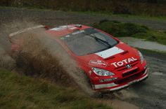 Peugeot 307 WRC rally car - Rally GB