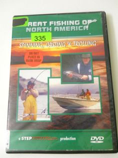 Great Fishing of North America DVD Spinning Casting Trolling 2003 Tips Technique