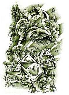 Commission iPod tattoo design by WillemXSM.deviantart.com on @deviantART