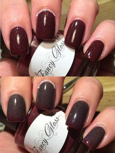 Fancy Gloss Cinnamon Frost Thermal Polish My Swatches Pinterest And