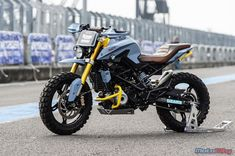 Customised BMW G310R Rock Bmw Adventure Bike, R Cafe, Bmw Scrambler, Motorcycle Wallpaper, Cafe Racing, Motorcycle Wheels, Cool Motorcycles, Classic Bikes, Custom Bikes