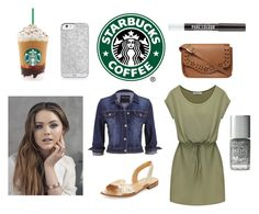 """Starbucks #1"" by lindsaygreys ❤ liked on Polyvore featuring maurices, Dorothy Perkins, Aéropostale, Jack Rogers, denim, Silver, starbucks, jackrogers and sortofpreppy"