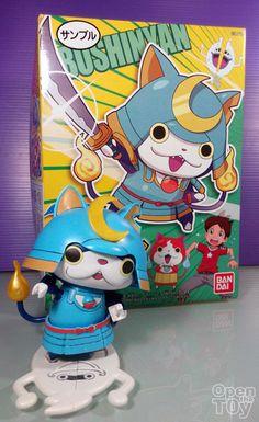 Open The Toy: Bandai Yo-Kai Watch Bushinyan Model kit