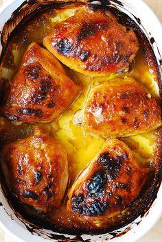 Best Baked Chicken Thighs