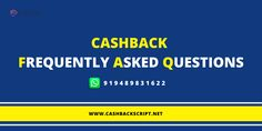 Cahsback FAQ Business Website, Affiliate Marketing, Script, Coupon, This Or That Questions, Script Typeface, Coupons