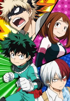 El Anime Boku no Hero Academia tendrá segunda temporada.