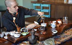 Verdant+Tea My tea mentor and friend David Duckler.