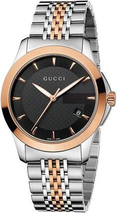YA126410 - Authorized Gucci watch dealer - Mens Gucci Timeless Quartz Medium, Gucci watch, Gucci watches