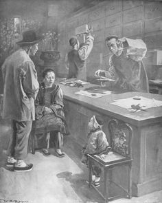 Chinese pharmacy in San Francisco, 1899.