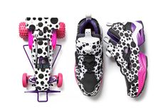 Jun Watanabe x atmos x TAMIYA x Reebok Pump Fury & RC Car